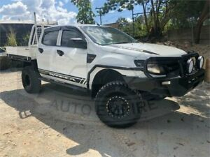 2013 Ford Ranger PX XL 3.2 (4x4) White 6 Speed Automatic Dual Cab Chassis Underwood Logan Area Preview