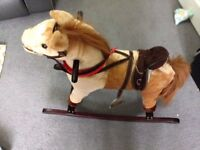 ***** Rocking Horse With Sounds & Moving Mouth - £15 *****
