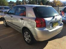 2004 Toyota Corolla ZZE122R 5Y Ascent Silver Automatic Hatchback Fyshwick South Canberra Preview