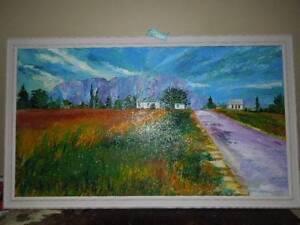 Original Oil on Canvas by Wayne Edwards, Mount Roland Port Sorell Latrobe Area Preview
