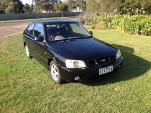 2001 Hyundai Accent Hatchback Newcomb Geelong City Preview