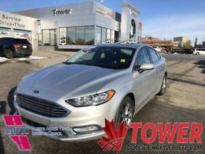 2017 Ford Fusion SE - PUSH START IGNITION, SUNROOF, REAR CAM