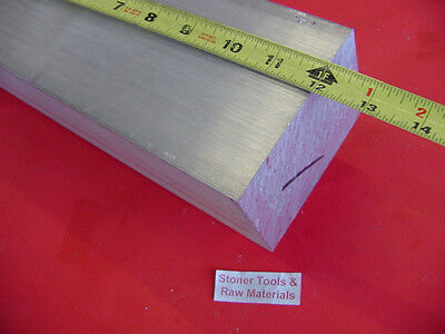 3 X 4 Aluminum 6061 Flat Bar 12 Long Solid T6511 Plate Mill Stock 3.00x 4.00