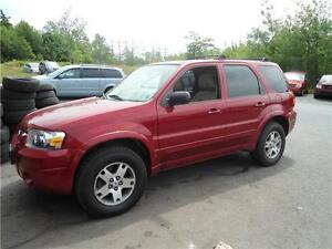 2005 Ford Escape Limited , LEATHER, MOONROOF, LOADED