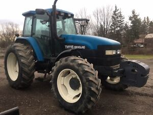 New Holland TM115 Tractor For Sale