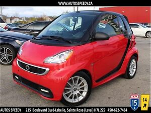 2013 SMART FORTWO PASSION CONVERTIBLE/NAVIGATION/GARANTIE
