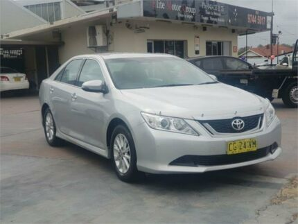 2016 Toyota Aurion GSV50R MY15 AT-X Silver 6 Speed Automatic Sedan Burwood Burwood Area Preview