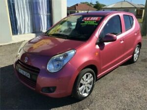 2011 Suzuki Alto GF GL Pink 5 Speed Manual Hatchback