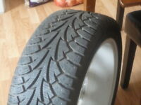 4-BF Goodrich winter slalom tires with snow flake 215/65R-16