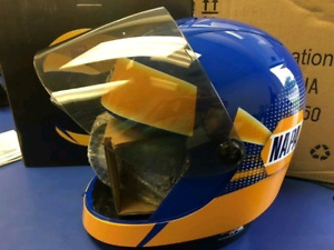 Used once - Special Edition NAPA Auto Parts Racing Helmet Coffee