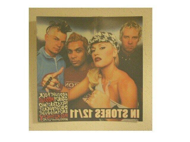 No Doubt Window Slick Poster  Gwen Stefani