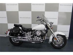 YAMAHA XV650 BLANC 2000