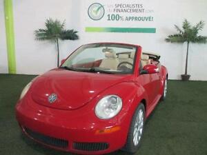 Volkswagen NEW BEETLE DÉCAPOTABLE,CUIR,BANCS CHANFFANTS ET +++
