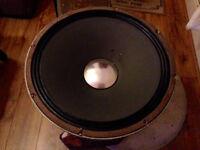 "JBL K140 15"" Fender dual showman reveb Vibrasonic reverb Speaker Driver"