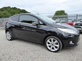 Ford Fiesta Titanium, 3 Door, Gorgeous in Black, Only 1 Previous Keeper, Long MOT, Superb Spec !!