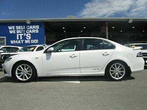 2013 Ford Falcon FG MkII XR6 White 6 Speed Sports Automatic Sedan Welshpool Canning Area Preview