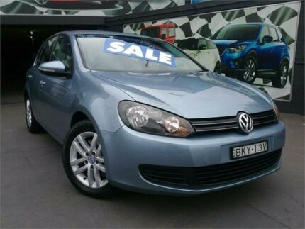 2009 Volkswagen Golf VI 118TSI DSG Comfortline Blue 7 Speed Sports Automatic Dual Clutch Hatchback Greenacre Bankstown Area Preview
