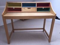 Desk, John Lewis Space Saving Loft Desk, VGC