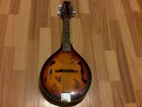 Mansfield mandolin autograph by bluegrass player