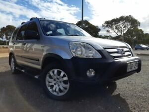 2005 Honda CR-V RD MY2005 Special Edition 4WD Silver 5 Speed Manual Wagon Gepps Cross Port Adelaide Area Preview