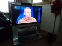 "Panasonic Viera 42"" tv on stand £75"