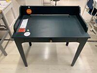 LOMMARP desk, dark blue-green, 90x54cm - IKEA Lakeside #bargaincorner
