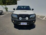 2013 Toyota Hilux KUN26R MY12 SR Double Cab White 5 Speed Manual Cab Chassis Maddington Gosnells Area Preview