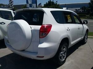 2007 Toyota RAV4 ACA33R CV (4x4) White 4 Speed Automatic Wagon Greenacre Bankstown Area Preview