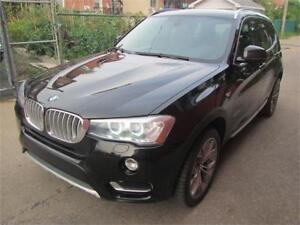 2015 BMW X3-4WD ..Diesel.. *NAVIGATION** SUNROOF* $69 SEMAINE