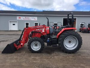 Massey Ferguson 90hp Tractor - REDUCED LEFTOVER