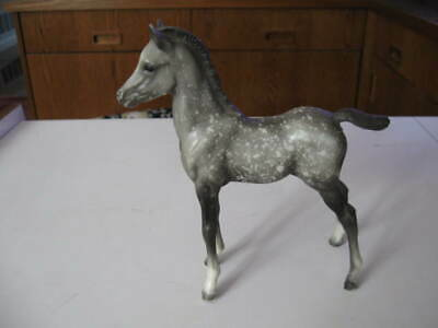 Vintage Breyer Grey Spotted Appaloosa Colt Glossy, Check it out!