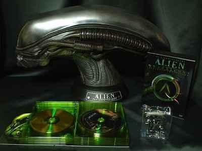 Alien 25th Anniversary Ultimate Collection w/ Alien Head & DVD & Mini KUBRICK