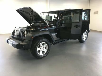 2008 Jeep Wrangler Black Manual Softtop
