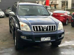 2004 Toyota Landcruiser Prado GRJ120R GXL (4x4) Blue 4 Speed Automatic Wagon Burwood Whitehorse Area Preview