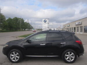 BLACK ON BLACK !!! 2009 NISSAN MURANO SL AWD