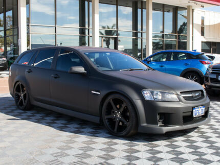 2008 Holden Commodore VE MY09 SS Sportwagon Black 6 Speed Sports Automatic Wagon