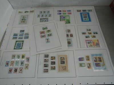 Nystamps British Dominica mint NH stamp & souvenir sheet collection Album pg
