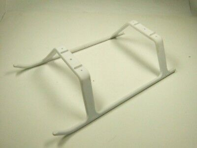 Heli Style Landing Gear Skids for 450 Class Racing Drone - White