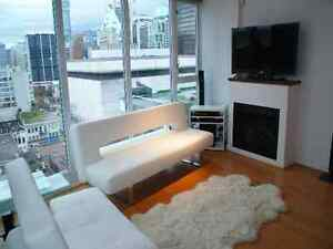 FURNISHED JR. PENTHOUSE - amazing view on Seymour @ Robson