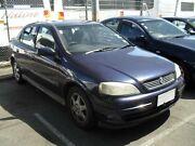 2000 Holden Astra TS CD SEDAN 4DR MAN 5SP 1.8I Blue Sedan Moorabbin Kingston Area Preview