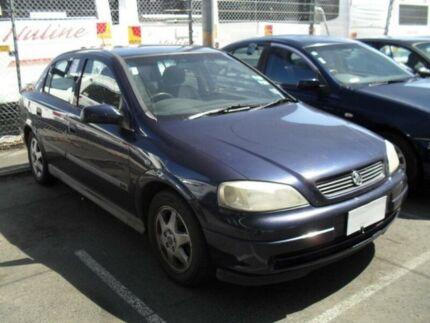 2000 Holden Astra TS CD SEDAN 4DR MAN 5SP 1.8I Blue Sedan