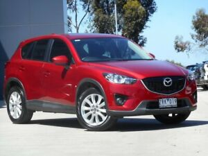 2013 Mazda CX-5 KE1031 MY13 Grand Touring SKYACTIV-Drive AWD Soul Red 6 Speed Sports Automatic Wagon Ravenhall Melton Area Preview