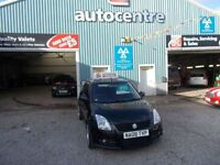 SUZUKI SWIFT 1.6 SPORT 3d 124 BHP 3 MONTHS WARRANTY (black) 2008