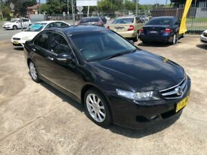 2008 Honda Accord Euro 7th Gen Luxury Sedan 4dr Auto 5sp 2.4i Black Automatic Sedan Bass Hill Bankstown Area Preview