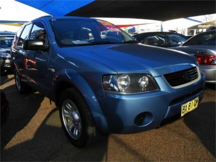 2005 Ford Territory SX TX Blue 4 Speed Sports Automatic Wagon Colyton Penrith Area Preview