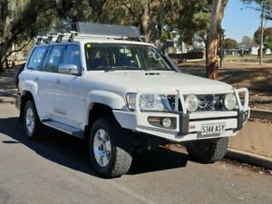 2012 Nissan Patrol GU 7 MY10 ST White 4 Speed Automatic Wagon Prospect Prospect Area Preview