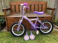 Kids bike - Apollo Petal 14 inch girls bicycle