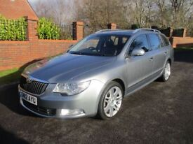 SKODA SUPERB 2.0 ELEGANCE TDI CR 5d 140 BHP (grey) 2012
