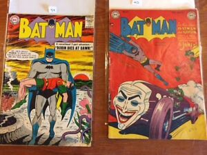 Lots of silver & golden age DC and Marvel Key issue comics
