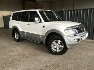 2002 Mitsubishi Pajero NM MY2002 Exceed White 5 Speed Sports Automatic Wagon Rocklea Brisbane South West Preview